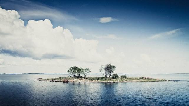 Landscape view of Aland Islands}