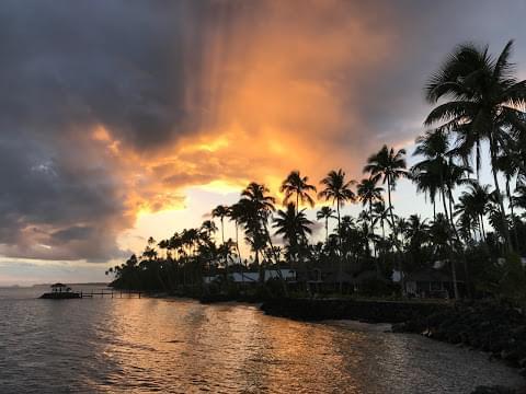 Landscape view of American Samoa}