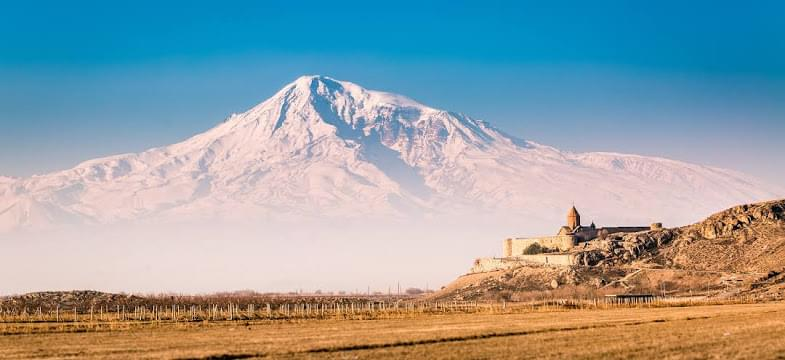 Landscape view of Armenia