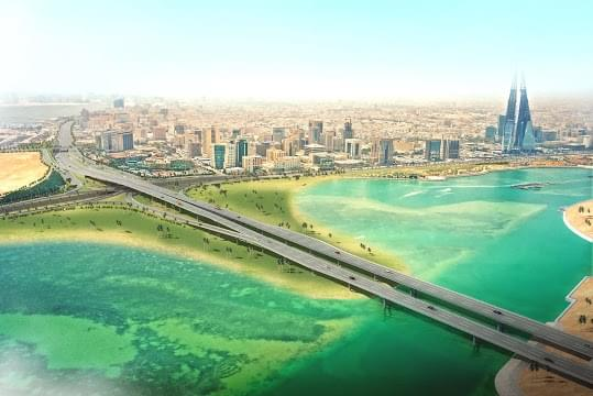 Landscape view of Bahrain