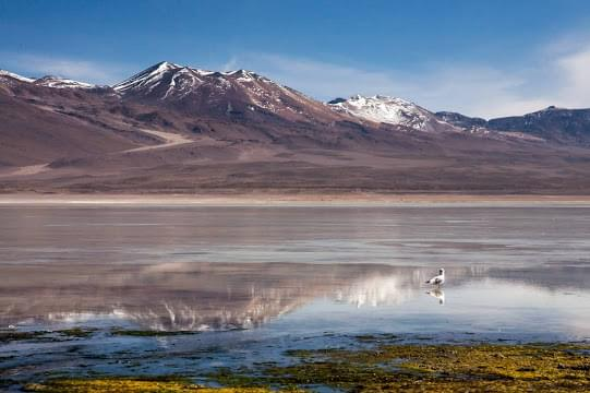 Landscape view of Bolivia}