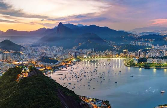 Landscape view of Brazil