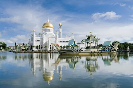 Landscape view of Brunei