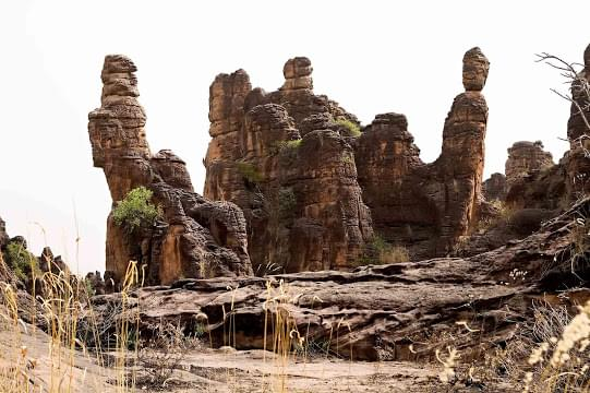 Landscape view of Burkina Faso