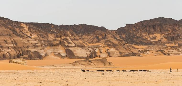 Landscape view of Chad