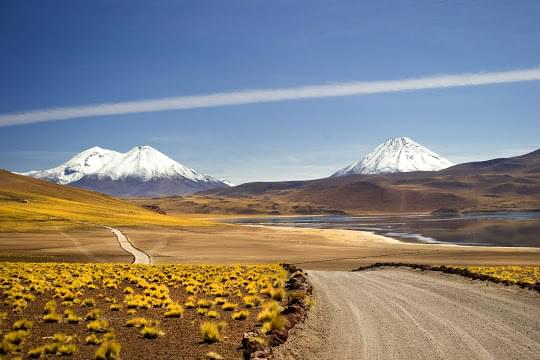 Landscape view of Chile