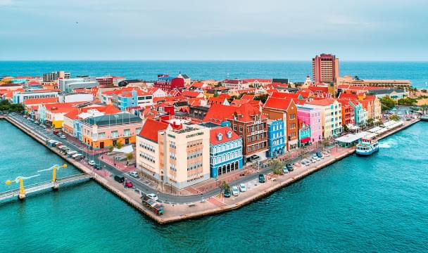 Landscape view of Curacao}