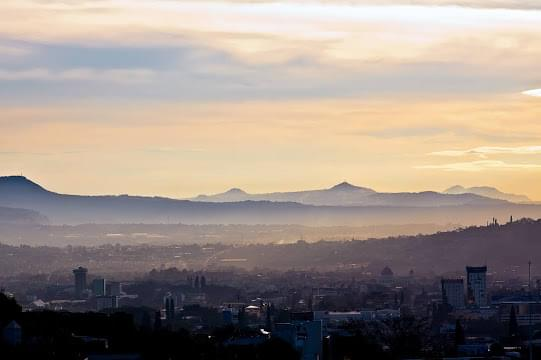 Landscape view of El Salvador}