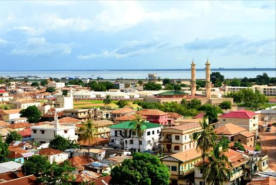 Landscape view of Gambia}