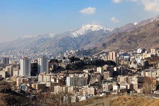 Landscape view of Iran