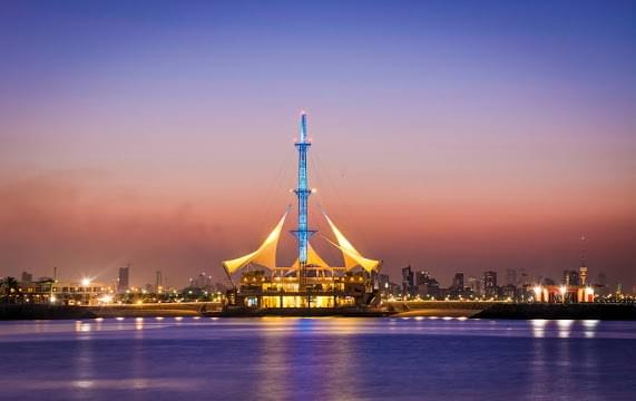 Landscape view of Kuwait}