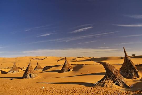Landscape view of Libya}