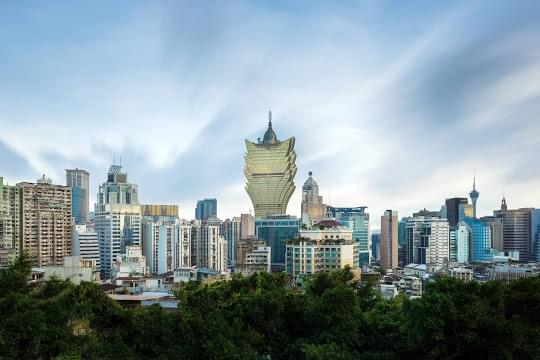 Landscape view of Macau}