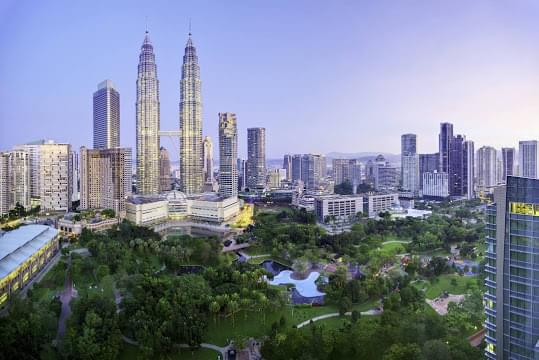 Landscape view of Malaysia