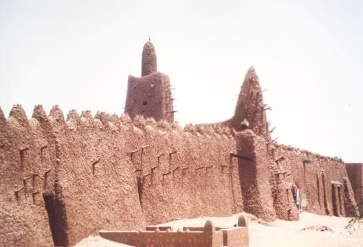 Landscape view of Mali}