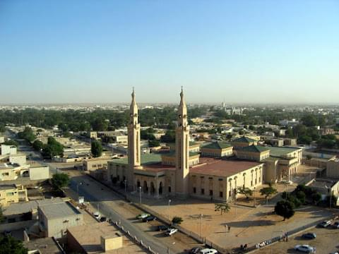 Landscape view of Mauritania}