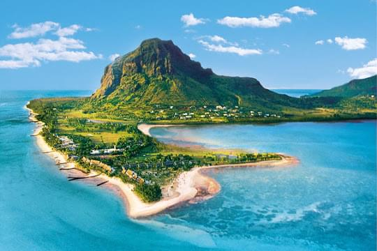 Landscape view of Mauritius}