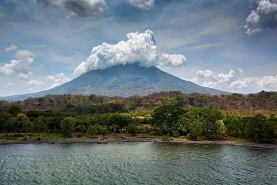 Landscape view of Nicaragua