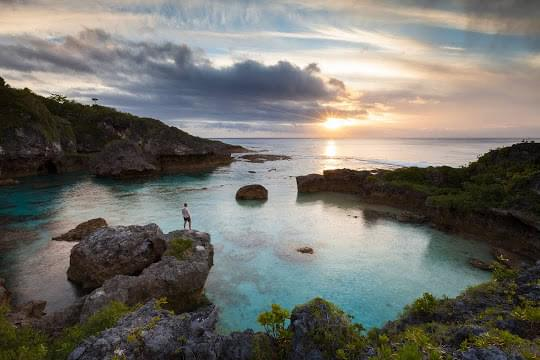 Landscape view of Niue}