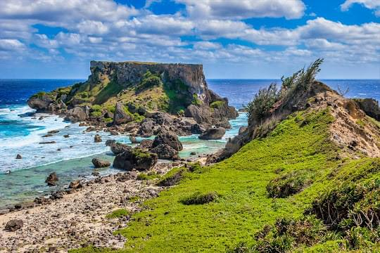 Landscape view of Northern Mariana Islands