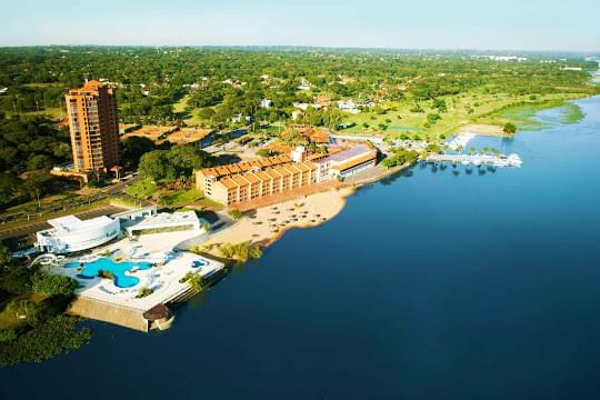 Landscape view of Paraguay}