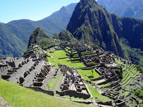 Landscape view of Peru}