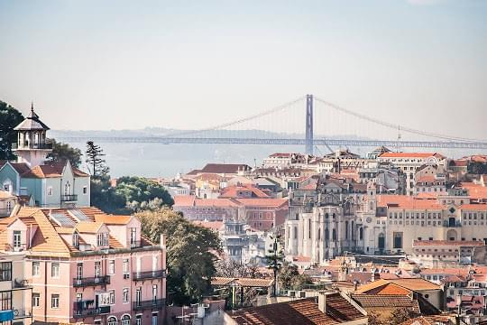 Landscape view of Portugal}
