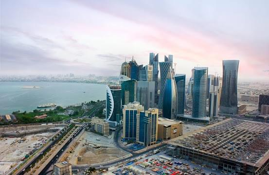 Landscape view of Qatar