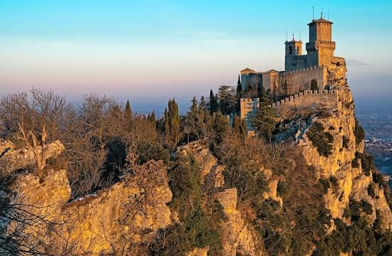 Landscape view of San Marino