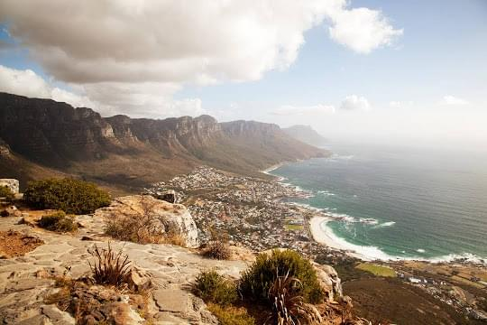 Landscape view of South Africa}