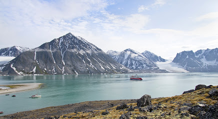 Landscape view of Svalbard