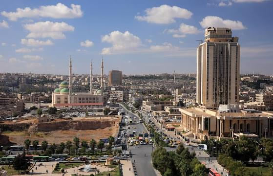 Landscape view of Syria}
