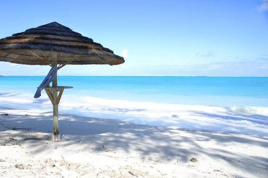 Landscape view of Turks and Caicos Islands}