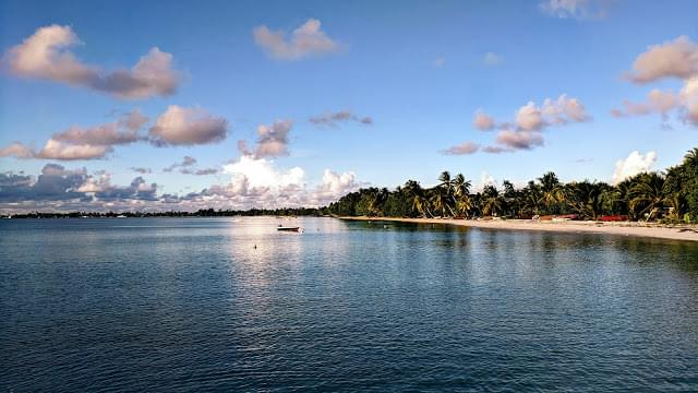Landscape view of Tuvalu