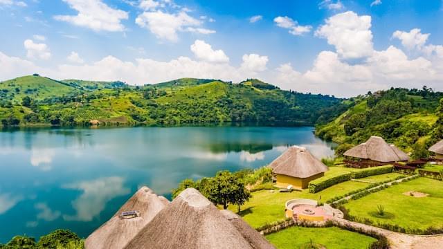 Landscape view of Uganda}