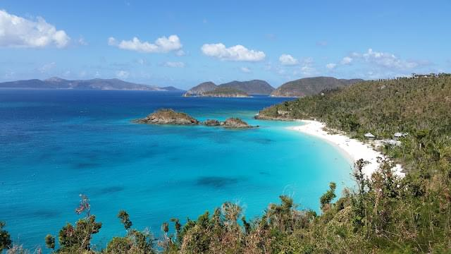 Landscape view of US Virgin Islands}